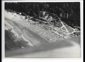 ZZ-1103/ Göhren Rügen Foto seltenes Luftbild 1939 18 x 13 cm