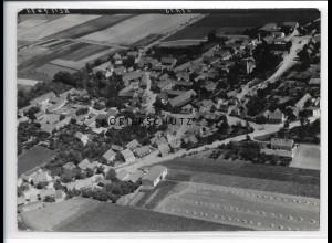 ZZ-0839/ Klein Rodensleben b. Magdeburg Foto seltenes Luftbild 1939 18 x 13 cm