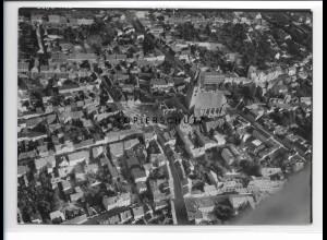 ZZ-0840/ Stendal Foto seltenes Luftbild 1939 18 x 13 cm