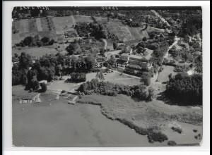 ZZ-0841/ Ferch am Schwielowsee Foto seltenes Luftbild 1939 18 x 13 cm