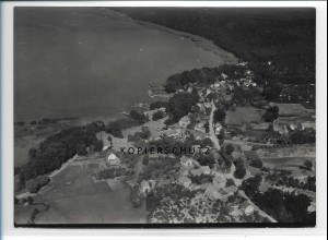 ZZ-0842/ Ferch am Schwielowsee Foto seltenes Luftbild 1939 18 x 13 cm