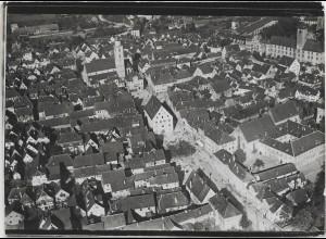 ZZ-0045/ Bad Mergentheim Foto Strähle Luftbild ca.1938 18 x 13 cm