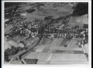 ZZ-0845/ Schmachtenhagen b. Oranienburg Foto seltenes Luftbild 1939 18 x 13 cm