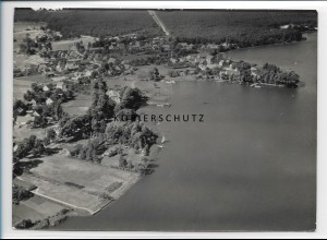 ZZ-0847/ Klein Köris Foto seltenes Luftbild 1939 18 x 13 cm