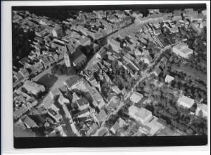 ZZ-0850/ Liebenwerda Foto seltenes Luftbild 1939 18 x 13 cm