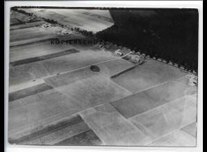 ZZ-1638/ Lützow Bauernsiedlung Foto seltenes Luftbild 1939 18 x 13 cm