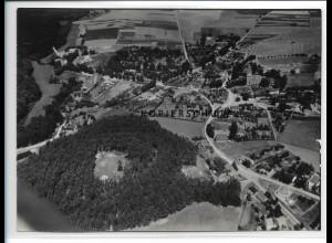 ZZ-0858/ Neuburg Meckl. Foto seltenes Luftbild 1939 18 x 13 cm