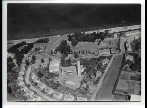 ZZ-0862/ Stralsund Marine-Lazarett Foto seltenes Luftbild 1939 18 x 13 cm