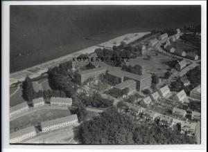 ZZ-0863/ Stralsund Marine-Lazarett Foto seltenes Luftbild 1939 18 x 13 cm