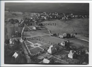 ZZ-0878/ Masserberg Thüringen Foto seltenes Luftbild 1937 18 x 13 cm