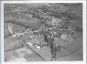 ZZ-0999/ Bredstedt Foto seltenes Luftbild 1935 18 x 13 cm