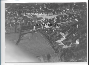 ZZ-1000/ Bredstedt Foto seltenes Luftbild ca. 1935 18 x 13 cm
