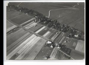 ZZ-1095/ Wrixum auf Föhr Foto seltenes Luftbild 1939 18 x 13 cm