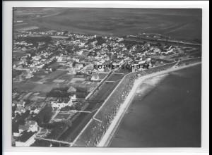 ZZ-1094/ Büsum Foto seltenes Luftbild 1939 18 x 13 cm