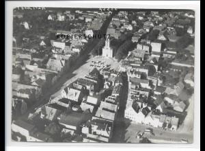 ZZ-5218/ Husum Foto seltenes Luftbild 18 x 13 cm 1939