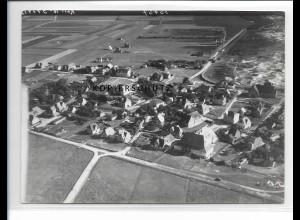 ZZ-0890/ Norddorf Amrum Foto seltenes Luftbild ca. 1938 18 x 13 cm