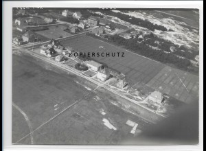 ZZ-1092/ St. Peter-Ording Foto seltenes Luftbild 1939 18 x 13 cm
