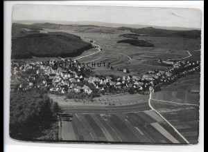 ZZ-0998/ Würtingen b. St. Johann Foto seltenes Luftbild 1935 18 x 13 cm