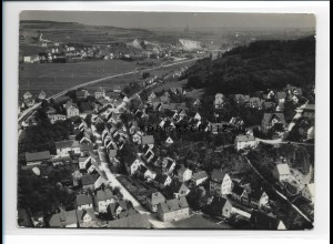 ZZ-0898/ Klingenstein bei Ulm Foto seltenes Luftbild 1936 18 x 13 cm