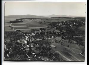ZZ-0900/ Rothenberg Hessen Foto seltenes Luftbild 1936 18 x 13 cm