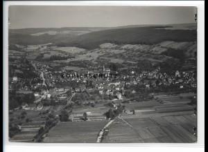 ZZ-1107/ Bad König i. O. Foto seltenes Luftbild 1936 18 x 13 cm