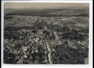 ZZ-0959/ Beerfelden Foto seltenes Luftbild 1937 18 x 13 cm