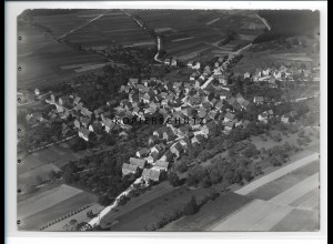 ZZ-0958/ Hirschhausen Foto seltenes Luftbild 1937 18 x 13 cm