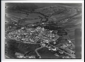ZZ-0957/ Bischofsheim bei Gersfeld Foto seltenes Luftbild 1937 18 x 12 cm