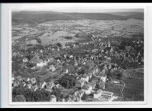 ZZ-0946/ Michelstadt Foto seltenes Luftbild 1939 18 x 13 cm
