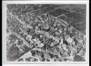 ZZ-1642/ Hochstadt b. Hanau Foto seltenes Luftbild 1937 18 x 13 cm