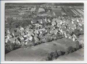 ZZ-0948/ Niederhofen bei Eppingen Foto seltenes Luftbild 1936 18 x 13 cm