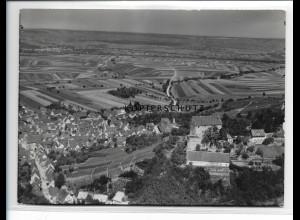 ZZ-0949/ Cleebrunn Foto seltenes Luftbild 1936 18 x 13 cm