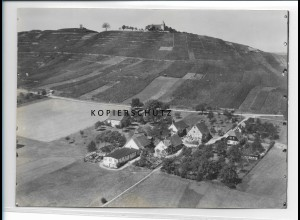 ZZ-0950/ Treffentrill bei Cleebrunn Foto seltenes Luftbild 1934 18 x 13 cm