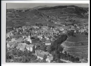 ZZ-0915/ Achkarren Foto seltenes Luftbild 1936 18 x 13 cm