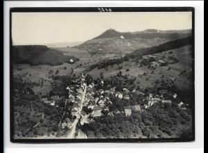 ZZ-0917/ Dangstetten bei Tiengen Foto seltenes Luftbild 1936 18 x 13 cm