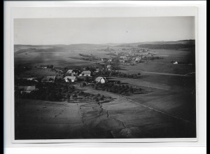 ZZ-0923/ Rotzingen b. Görwihl Foto seltenes Luftbild ca.1935 18 x 13 cm