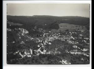 ZZ-0927/ Wyhlen Foto seltenes Luftbild ca.1938 18 x 13 cm cm