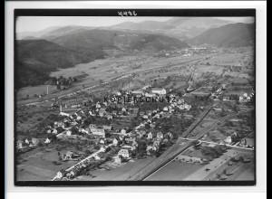 ZZ-0928/ Fahrnau b. Schopfheim Foto seltenes Luftbild ca.1938 18 x 13 cm cm