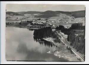 ZZ-0933/ Schluchsee Foto seltenes Luftbild 1935 18 x 13 cm