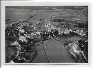 ZZ-0934/ Löffingen Foto seltenes Luftbild ca. 1935 18 x 13 cm