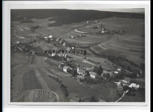ZZ-0935/ Kappel bei Lenzkirch Foto seltenes Luftbild ca. 1935 18 x 13 cm