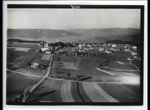 ZZ-0936/ Höchenschwand Foto seltenes Luftbild ca. 1935 18 x 13 cm