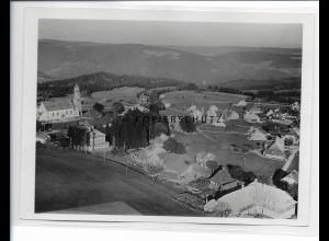 ZZ-0939/ Höchenschwand Foto seltenes Luftbild 1934 18 x 13 cm