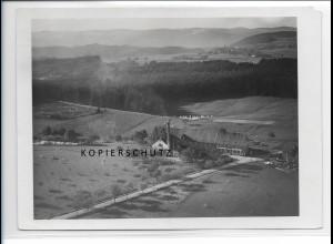 ZZ-0962/ Brauerei Waldhaus bei Waldshut Foto seltenes Luftbild 1935 18 x 13 cm