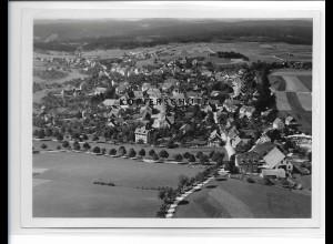 ZZ-0940/ Bonndorf Schwarzwald Foto seltenes Luftbild 1935 18 x 13 cm