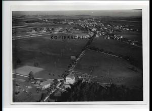ZZ-0941/ Bonndorf Schwarzwald Foto seltenes Luftbild 1935 18 x 13 cm