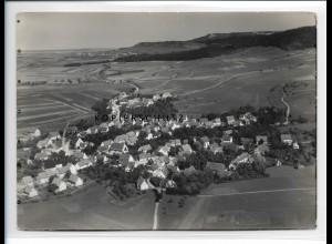 ZZ-0943/ Langenenslingen bei Rottweil Foto seltenes Luftbild 1936 18 x 13 cm