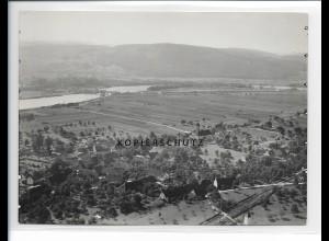 ZZ-0945/ Dogern bei Waldshut Foto seltenes Luftbild ca.1935 18 x 13 cm