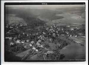 ZZ-0944/ Uhlingen Foto seltenes Luftbild 1934 18 x 13 cm
