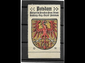Y16670/ Reklamemarke POTSDAM Wappen Kaffee Hag
